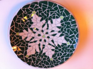 Bamboeschaal kerstster