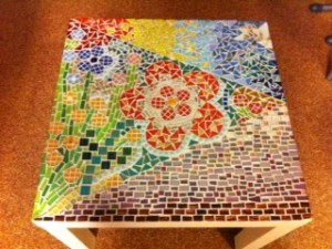 Ikeatafel bloem